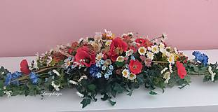 Dekorácie - dekorácia na svadobný stôl - 11037116_