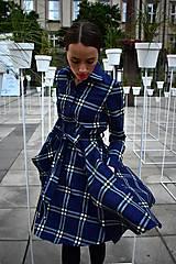 Šaty - Košilové kárované šaty HANA - 11040326_
