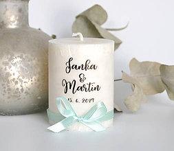 Svietidlá a sviečky - Darček pre hostí #35 - 11041185_