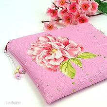 Na tablet - TAŠTIČKA - Když kvetou pivoňky - 11040131_
