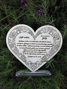 Darčeky pre svadobčanov - Poďakovanie rodičom - 11040371_