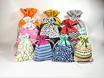 Úžitkový textil - Veselé bavlnené vrecúško - 11042976_