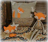 Úžitkový textil - Tu dávajú líšky dobrú noc - 11040853_