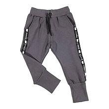 Detské oblečenie - Detské tepláky - moonrise street crew grey - 11040196_
