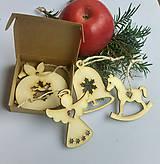Dekorácie - Vianočné ozdoby MIX - 11041933_