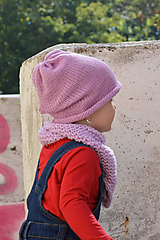 Detské čiapky - .MiNi detská čiapka (50% merino, 50% bavlna) - 11042780_