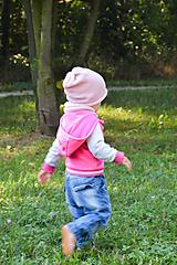 Detské čiapky - .MiNi detská čiapka (50% merino, 50% bavlna) - 11042807_