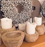 Nádoby - Kamenne misky z keramiky - 11042642_
