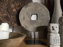 Dekorácie - Mlynský kameň - dekorácia - 11042681_