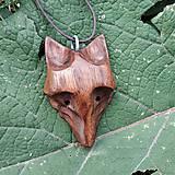 Náhrdelníky - Prívesok vlk Orech - 11041775_