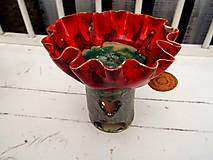 Svietidlá a sviečky - Aromalampa kvetová - 11040712_