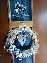 Darčeky pre svadobčanov - svadobný veniec - 11042401_