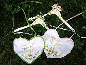 Darčeky pre svadobčanov - svadobné vešiaky - 11042383_