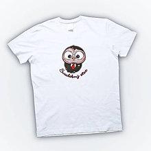 Oblečenie - Pánske bavlnené tričko - OčiPuči Svadobný otec - 11045297_