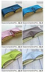 Textil - VLNIENKA výroba na mieru SOFTSHEL farebnica Fusak, rukávnik, capačky, rukavice, podložka proti ušpineniu od topánočiek - 11043861_