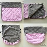 Textil - VLNIENKA výroba na mieru SOFTSHEL farebnica Fusak, rukávnik, capačky, rukavice, podložka proti ušpineniu od topánočiek - 11043863_