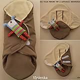Textil - VLNIENKA výroba na mieru SOFTSHEL farebnica Fusak, rukávnik, capačky, rukavice, podložka proti ušpineniu od topánočiek - 11043871_