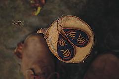"""Náušnice - """"moja jeseň"""" - visiace slzičky - 11043903_"""