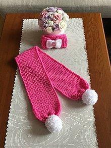Detské doplnky - Cukríkovo ružový Set - pre princezničky  do škôlky - 11043576_