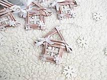 Dekorácie - Roztomilý domček KAKAUKO ❤️ - 11045119_