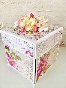 Papiernictvo - Darčeková krabička na peniaze - 11044545_