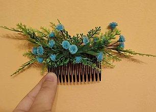 Ozdoby do vlasov - Nebeská víla hrebienok - 11045584_