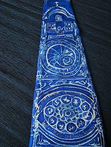 Doplnky - Kravata Modrý orloj - 11043677_