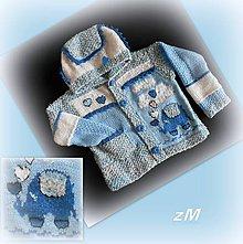 Detské oblečenie - So zamilovaným sloníkom (sveter) - 11044791_