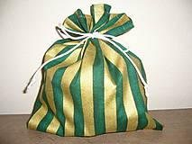 Úžitkový textil - Vrecúško na darčeky,sladkosti 24x20 - 11045350_