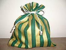 Úžitkový textil - Vrecúško na darčeky,sladkosti 26x20 - 11045415_