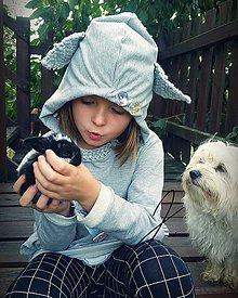 Detské oblečenie - Mikina zvieratko - 11047379_