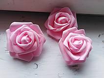 Polotovary - Penová ruža ružová - 11048269_