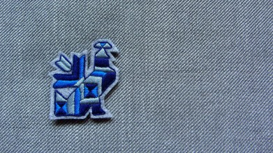 Odznaky/Brošne - Brošňa vták čičmany - 11048631_