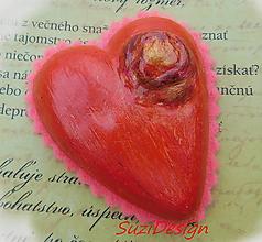 Dekorácie - srdce z lásky - 11047554_