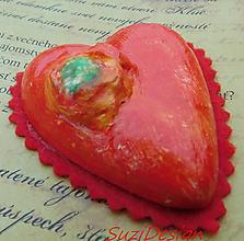Dekorácie - srdce z lásky - 11047580_