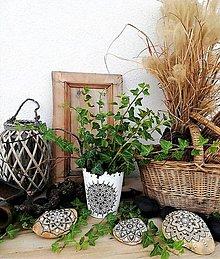Nádoby - MANDALA HARMÓNIE-NOVINKA!!! ručne maľovaný feng shui kvetináč - 11047865_