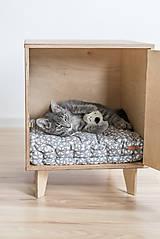 Pre zvieratká - Domček pre mačky - 11047888_