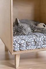 Pre zvieratká - Domček pre mačky - 11047894_