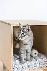 Pre zvieratká - Domček pre mačky - 11047895_