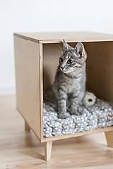 Pre zvieratká - Domček pre mačky - 11047896_