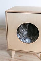 Pre zvieratká - Domček pre mačky - 11047920_