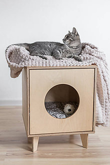 Pre zvieratká - Domček pre mačky - 11047897_