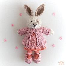 """Hračky - zajka """"Lea"""" - 11048808_"""