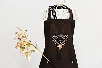 Úžitkový textil - Zástera s jelenem - 11049095_