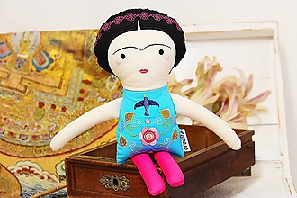 Hračky - Frida Kahlo - bábika - 11049344_