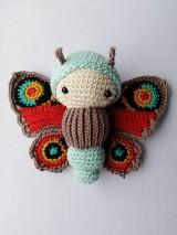 Hračky - Motýľ Babôčka - 11047082_