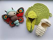 Hračky - Motýľ Babôčka - 11047084_