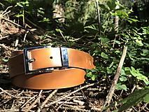Opasky - Dámsky kožený opasok - 11049631_