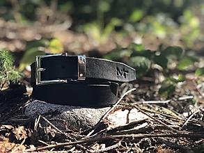 Opasky - Dámsky kožený opasok - 11049630_
