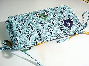 Textil - podložka do kočíka - 11046564_